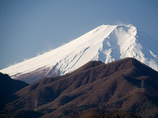 2012年12月16日の富士山写真