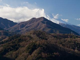 2012年12月24日の富士山写真
