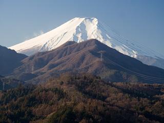 2012年12月27日の富士山写真