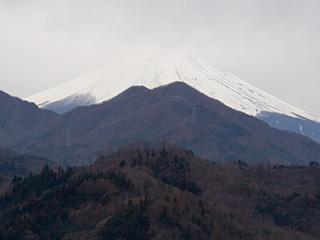 2012年12月28日の富士山写真