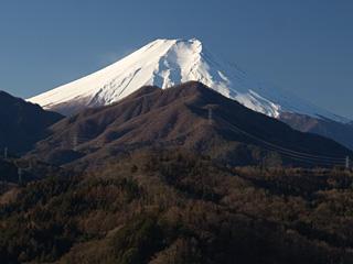 2013年1月4日の富士山写真