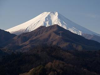 2013年1月5日の富士山写真