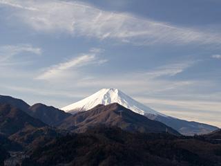 2013年1月6日の富士山写真
