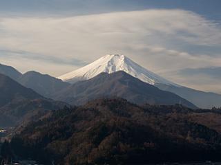 2013年1月12日の富士山写真