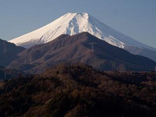 2013年1月13日の富士山写真