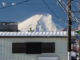 2013年1月15日の富士山写真