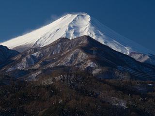 2013年1月18日の富士山写真