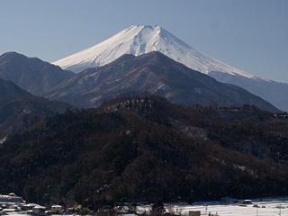 2013年1月19日の富士山写真