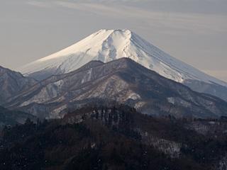 2013年1月21日の富士山写真