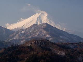 2013年1月25日の富士山写真