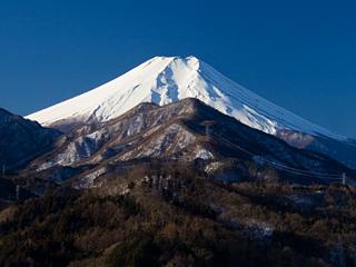 2013年1月27日の富士山写真
