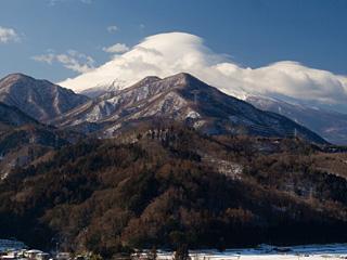 2013年1月28日の富士山写真