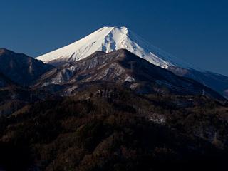 2013年1月29日の富士山写真