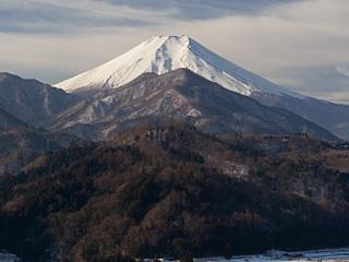 2013年1月31日の富士山写真