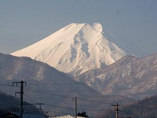 2013年2月1日の富士山写真