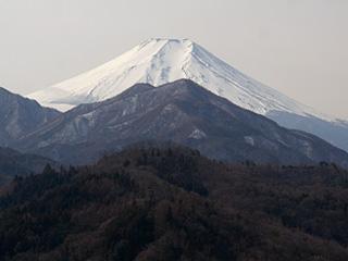2013年2月9日の富士山写真