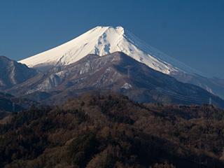 2013年2月10日の富士山写真