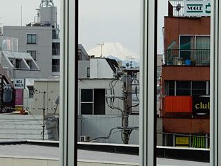 2013年2月17日の富士山写真