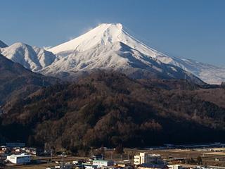 2013年2月20日の富士山写真