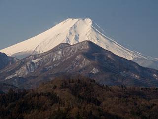 2013年2月23日の富士山写真