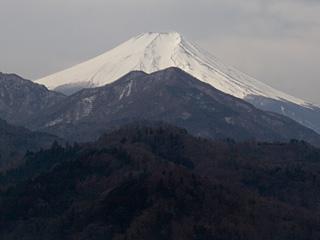 2013年3月1日の富士山写真