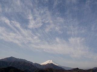 2013年3月3日の富士山写真