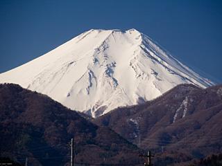 2013年3月5日の富士山写真