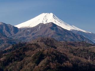 2013年3月6日の富士山写真