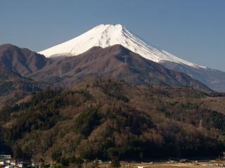 2013年3月12日の富士山写真
