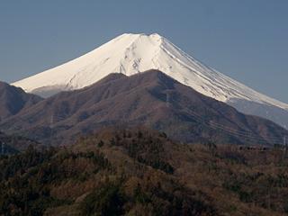 2013年3月17日の富士山写真