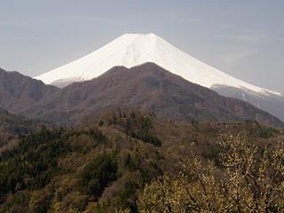 2013年4月4日の富士山写真