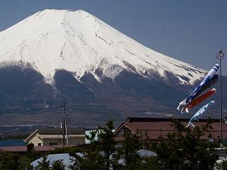 2013年4月22日の富士山写真