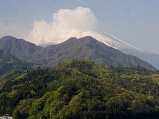 2013年4月26日の富士山写真