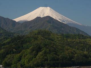 2013年4月28日の富士山写真