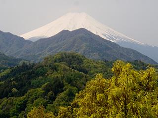 2013年4月29日の富士山写真