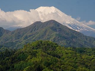 2013年5月5日の富士山写真