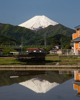2013年5月8日の富士山写真