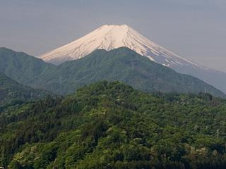 2013年5月15日の富士山写真