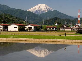 2013年5月24日の富士山写真