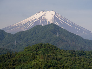 2013年6月1日の富士山写真