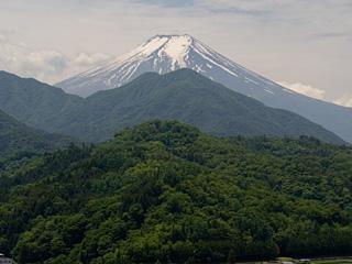 2013年6月3日の富士山写真