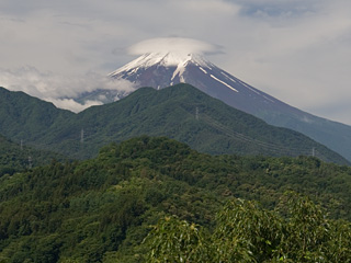 2013年6月22日の富士山写真
