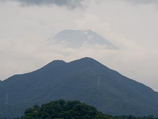 2013年7月1日の富士山写真