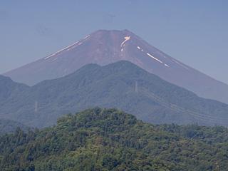 2013年7月10日の富士山写真