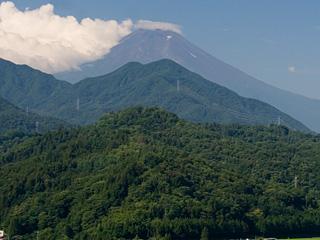 2013年7月23日の富士山写真