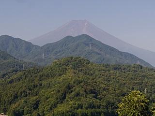2013年8月7日の富士山写真
