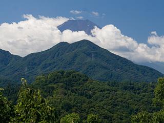 2013年8月28日の富士山写真