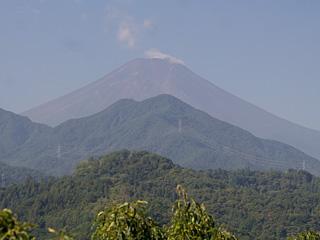 2013年8月31日の富士山写真