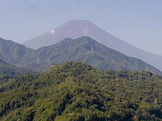 2013年9月12日の富士山写真