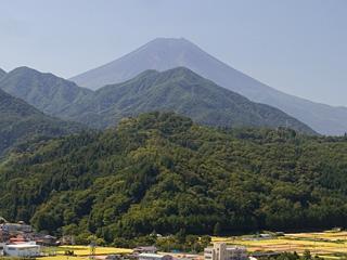 2013年9月18日の富士山写真